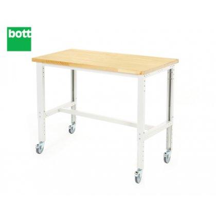 Bott Cubio Mobile Framework Bench - Multiplex Top (840-1140H x 1500W x 750D)