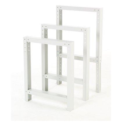 Bott Cubio Workbench End Frame (800H x 650D)