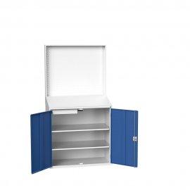 Bott Verso Information Station & 2 Shelves & 1 Drawer with a Plain Door (2000H x 1050W x 550D)