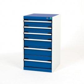 Bott Cubio Metal Drawer Cabinet - 6 Drawers (900H x 525W x 525D)
