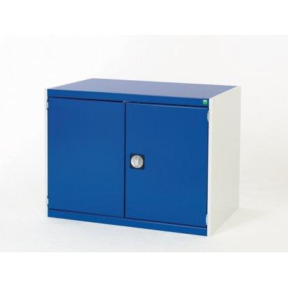 Bott Cubio Metal Storage Cupboard - 2 Shelves (1000H x 800W x 325D)
