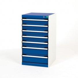 Bott Cubio Metal Drawer Cabinet - 7 Drawers (900H x 525W x 525D)