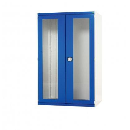 Bott Cubio Metal Window Door Cupboard - 3 Shelves (1600H x 1050W x 525D)