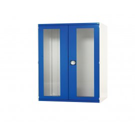 Bott Cubio Metal Window Door Cupboard - 3 Shelves (1200H x 1050W x 650D)