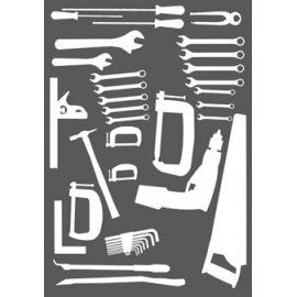 Bott Cubio Perfo Overlay - Maintenance Tools (Panel 2)