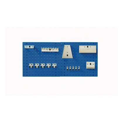 Bott Cubio Metal Perfo Panels with Hook Kit (457H x 495W)