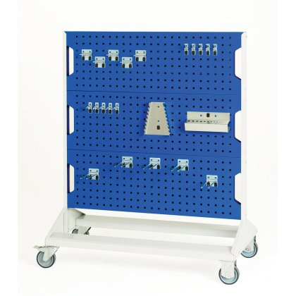 Bott Verso Mobile Perfo Rack & Hook Kit - Double Sided (1250H x 1000W x 550D)