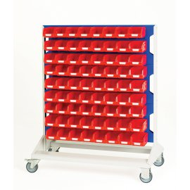Bott Verso Mobile Louvre Rack & Bin Kit - Double Sided (1250H x 1000W x 550D)