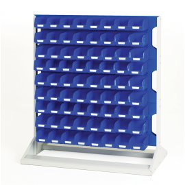 Bott Verso Static Louvre Rack & Bin Kit  - Single Sided (1125H x 1000W x 550D)