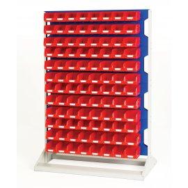Bott Verso Static Louvre Rack & Bin Kit  - Double Sided (1450H x 1000W x 550D)