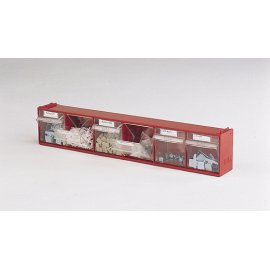 Bott Cubio Madia 2 Tilt Box - 6 Compartments  (112H x 600W x 96D)