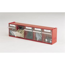 Bott Cubio Madia 3 Tilt Box - 5 Compartments  (168H x 600W x 142D)