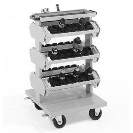 Bott Cubio CNC Compact Tool Carrier Trolley (1020H x 650W x 710D)