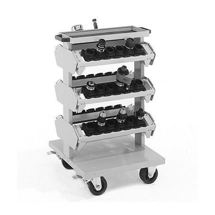 Bott Cubio CNC Compact Tool Carrier Trolley (1020H x 650W x 710D)