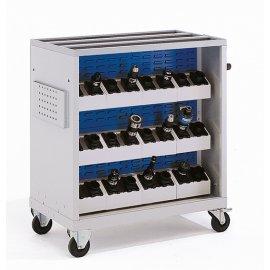Bott Cubio Metal CNC Tool Block Trolley (Empty) (1150H x 1115W x 600D)
