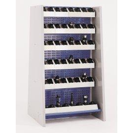 Bott Cubio Freestanding Louvre Panel for Tool Blocks (1835H x 1015W x 452D)