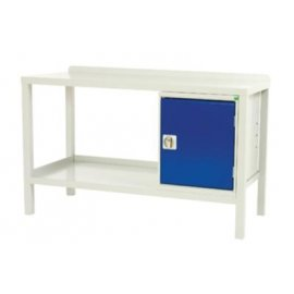 Bott Verso Static Welded Workbench - Steel Top (910H x 1500W x 600D)
