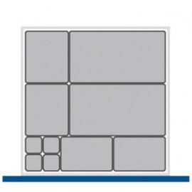 Bott Cubio Plastic Storage Box Kit - 525mm x 525mm