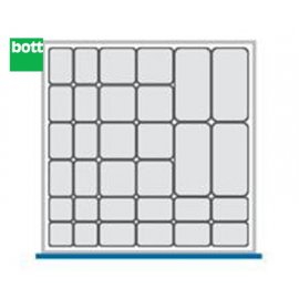 Bott Cubio Plastic Storage Box Kit - 525mm x 525mm