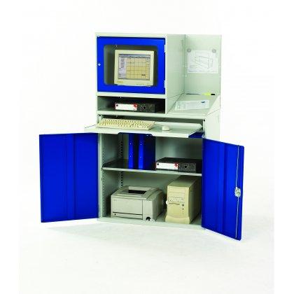 Bott Verso Metal Enclosed Top Computer Workstation (1680H x 1000W x 550D)