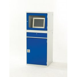 Bott Verso Metal Enclosed Top Computer Workstation (CRT)  (1550H x 650W x 550D)