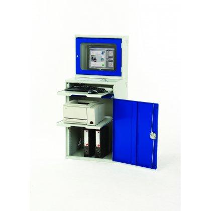 Bott Verso Metal Enclosed Top Computer Workstation (TFT) (1550H x 650W x 550D)