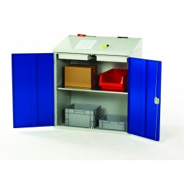 Bott Verso Metal Document Station - 1 Shelf & 2 Drawers (1130H x 1000W x 550D)