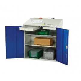 Bott Verso Metal Document Station - 2 Shelves & Drawers (1130H x 1000W x 550D)