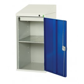 Bott Verso Metal Document Station - 1 Shelf & 1 Drawer (1130H x 500W x 550D)