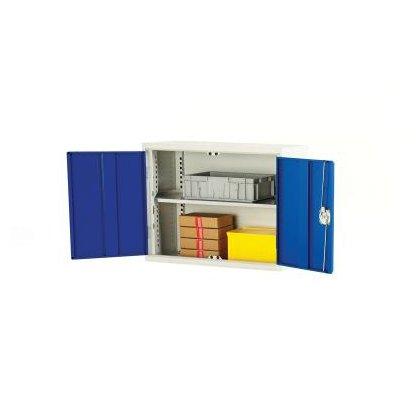 Bott Verso Metal Wall Cupboard - 1 Shelf (600H x 750W x 350D)