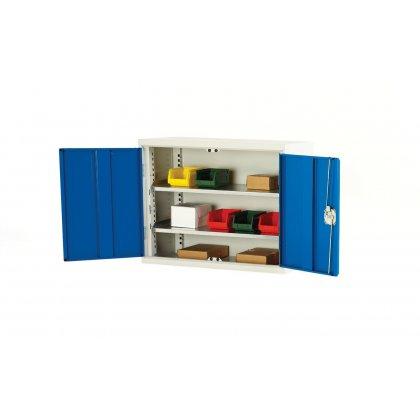 Bott Verso Metal Wall Cupboard - 2 Shelves (750H x 750W x 350D)