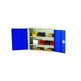 Bott Verso Metal Wall Cupboard - 2 Shelves (750H x 1000W x 350D)