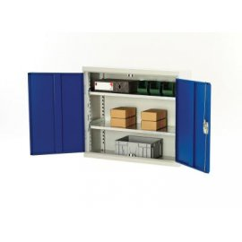 Bott Verso Metal Wall Cupboard - 2 Shelves (900H x 1000W x 350D)