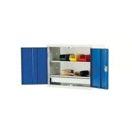 Bott Verso Metal Wall Cupboard - 1 Drawer & 2 Shelves (600H x 750W x 350D)