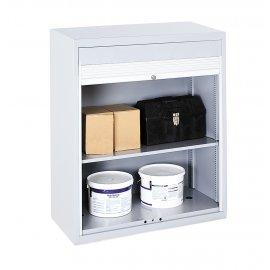 Bott Verso Metal Roller Shutter Cupboard - 2 Shelves (1000H x 1000W x 550D)