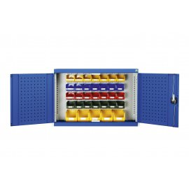 Bott Cubio Wall Mounted Cupboard (700H x 1050W x 325D) - With Bins
