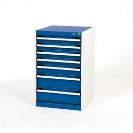 Bott Cubio Metal Drawer Cabinet - 7 Drawers (800H x 525W x 525D)