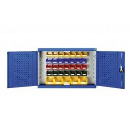 Bott Cubio Wall Mounted Cupboard (1000H x 1050W x 325D) - With Bins