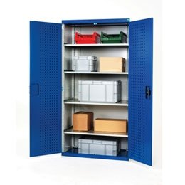 Perforated Panel Lined Hinged Doors